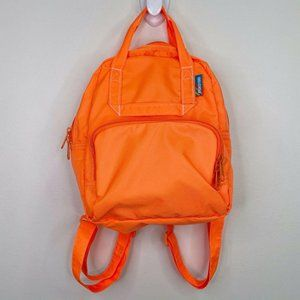 Mokuyobi Neon Orange Atlas Mini Tablet Backpack